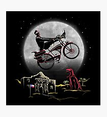 Pee Wee Phone Home Photographic Print