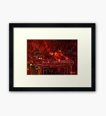 The Pacific Rim Today Framed Print