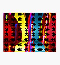 The Puzzle Photographic Print