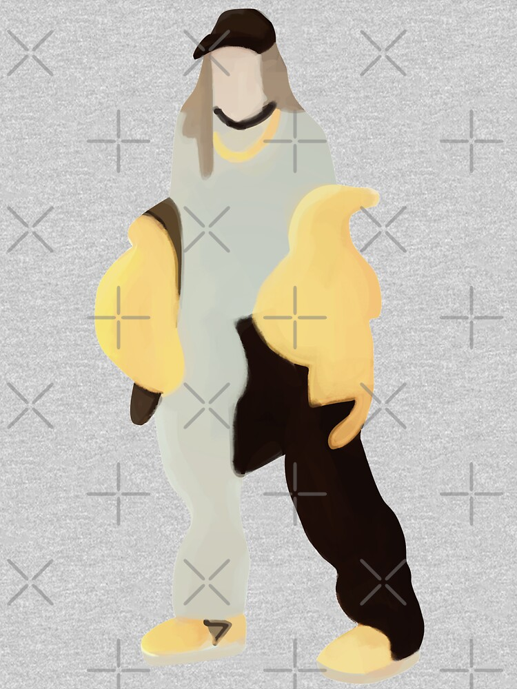 Black And Yellow Billie Silhouette by eyesasdaggers