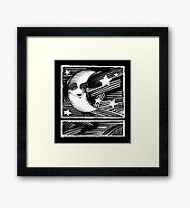 Moon/Stars Framed Print