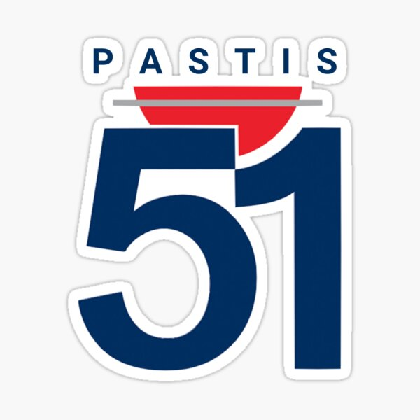 Pastis 51 (Petit) Sticker