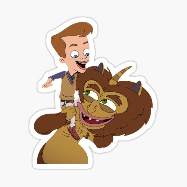 Big Mouth _ Matthew and Maury Best Buds Sticker