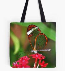 Flower Glasswing - Greta Oto Tote Bag