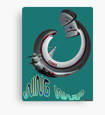 """Lockheed Super Constellation """"Connie"""" Wing Warp Design Canvas Print"""