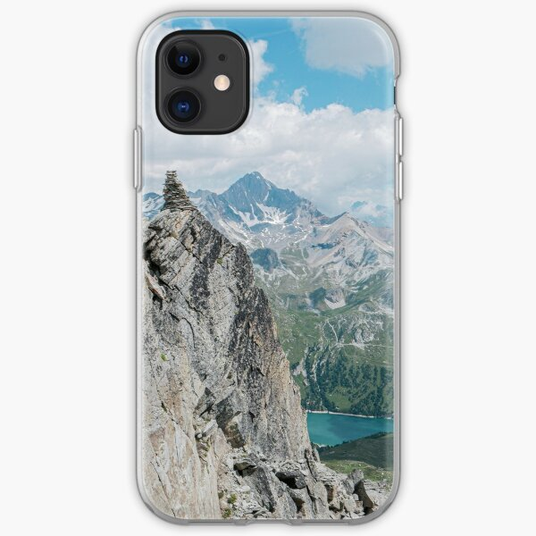 Perspectives montagnardes Coque souple iPhone