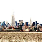 NYC Skyline from the South by Chipper