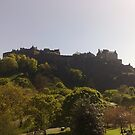 Edinburgh Castle by Malcolm Kirk