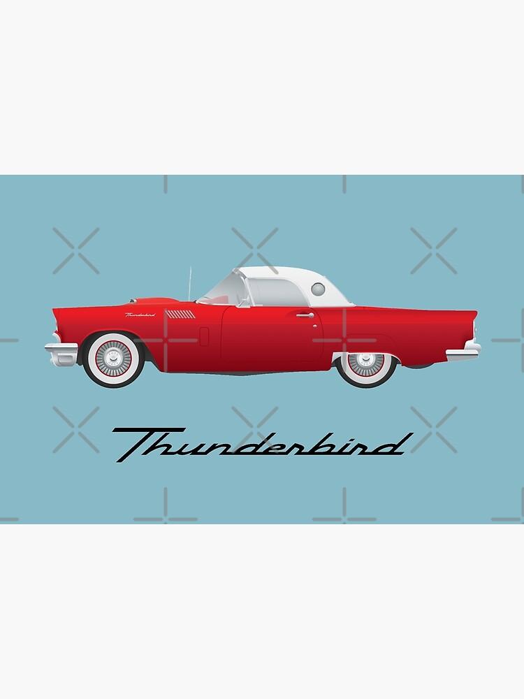 1957 Thunderbird by FrankieCat