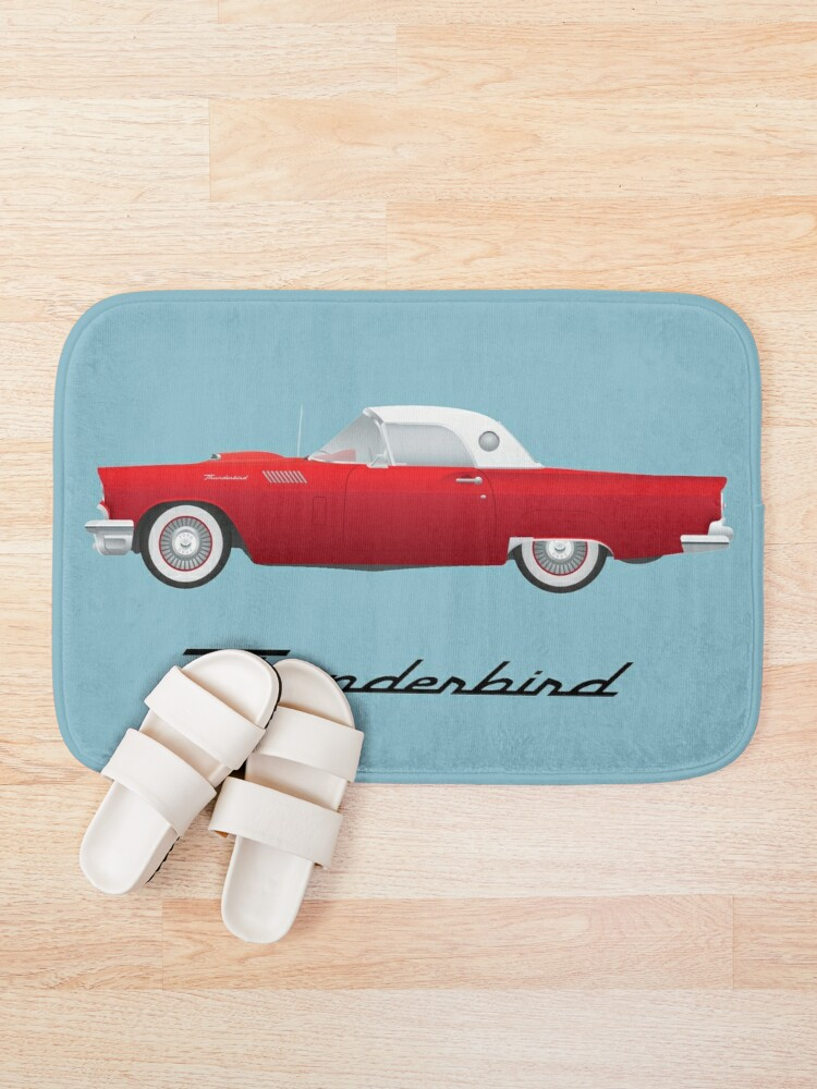 Alternate view of 1957 Thunderbird Bath Mat
