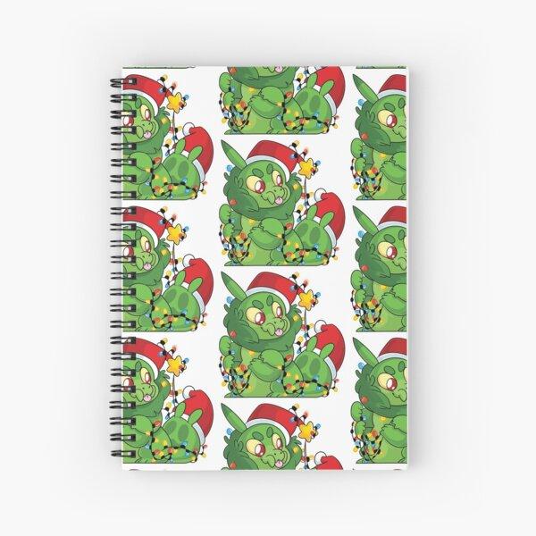 Christmas Krittle Spiral Notebook