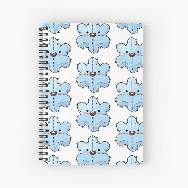 Snowflake Plushie Spiral Notebook