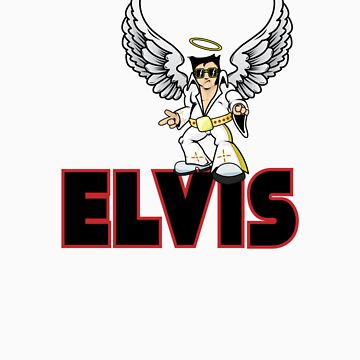 My Guardian Angel is Elvis by Iainmaynard