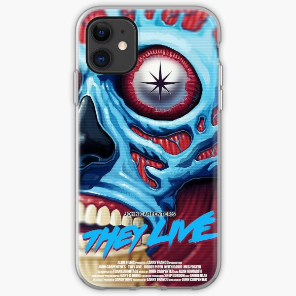 THEY LIVE Poster iPhone Soft Case