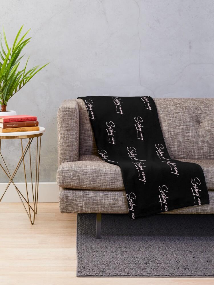 Alternate view of Sashay Away Throw Blanket