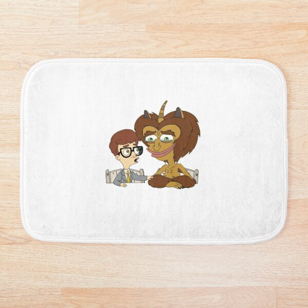 Big Mouth _ Maury and Andrew Crying Bath Mat