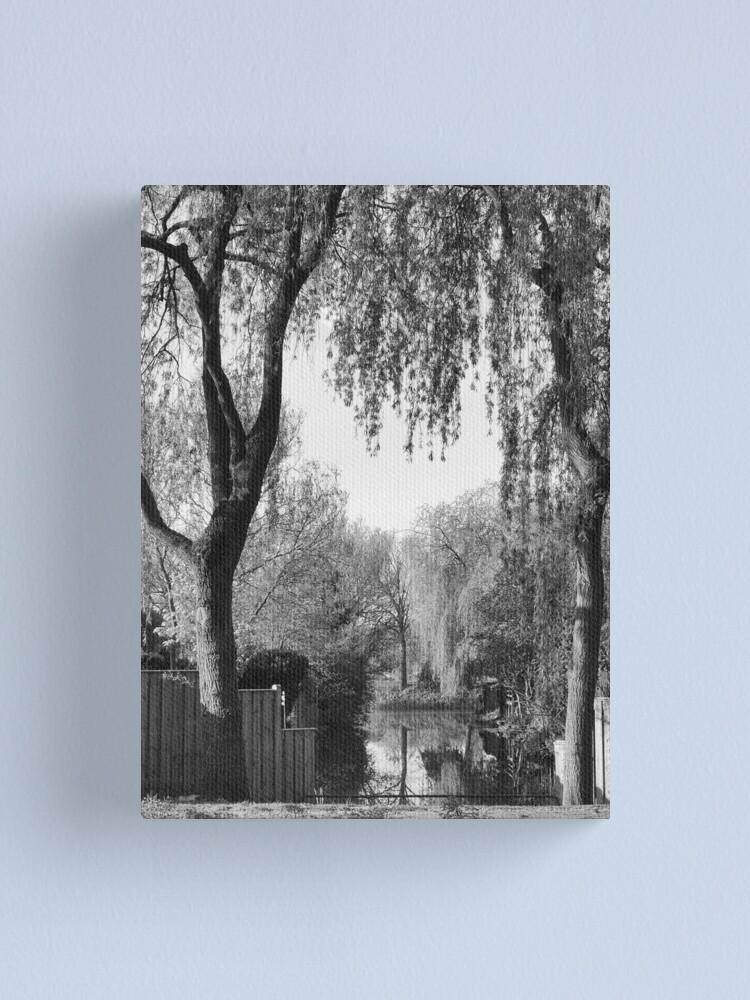 Alternate view of Behind the gardens Canvas Print