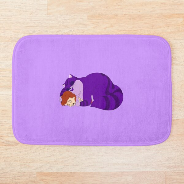 Big Mouth _ Jessi and the Depression Kitty Bath Mat