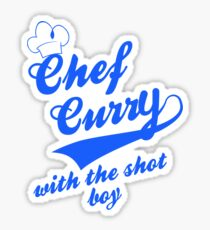 Chef Curry Script w/Hat Sticker