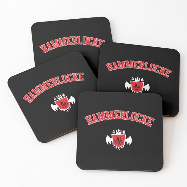 Hammerlocke Gym Galar Varsity Coasters (Set of 4)