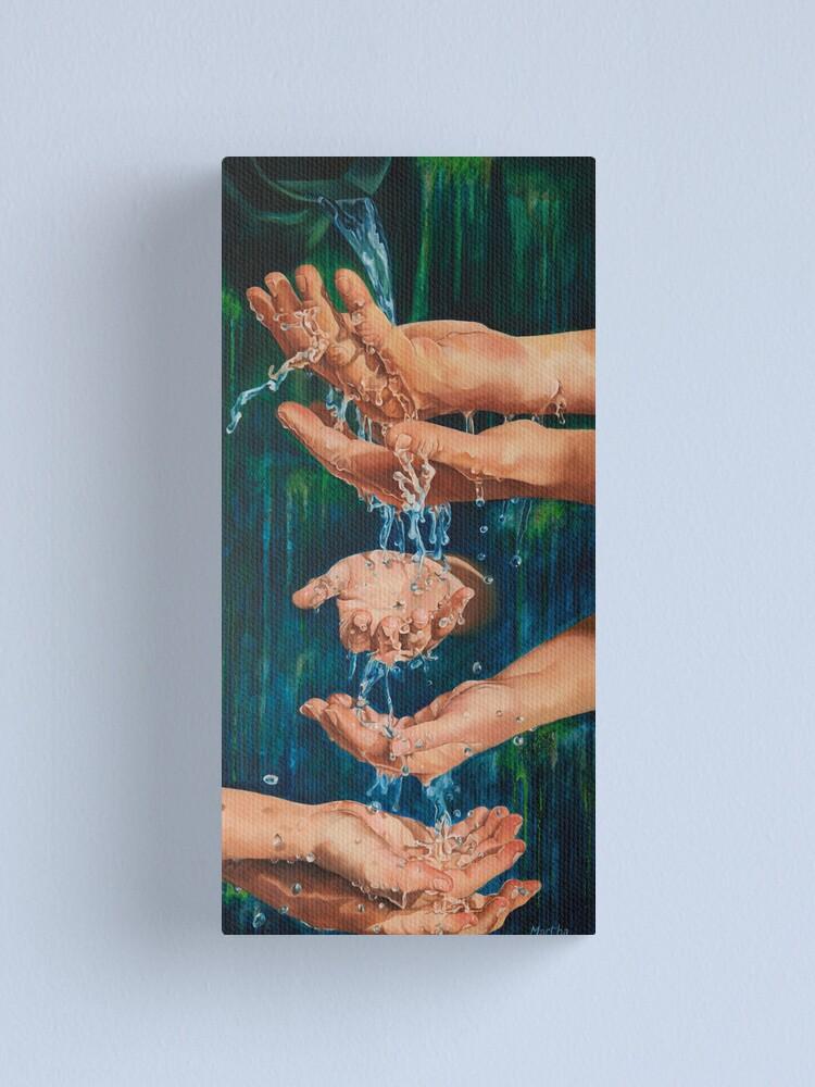 Alternate view of Flow Canvas Print