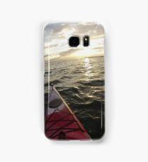 Sea Kayaking into the Sunset Samsung Galaxy Case/Skin