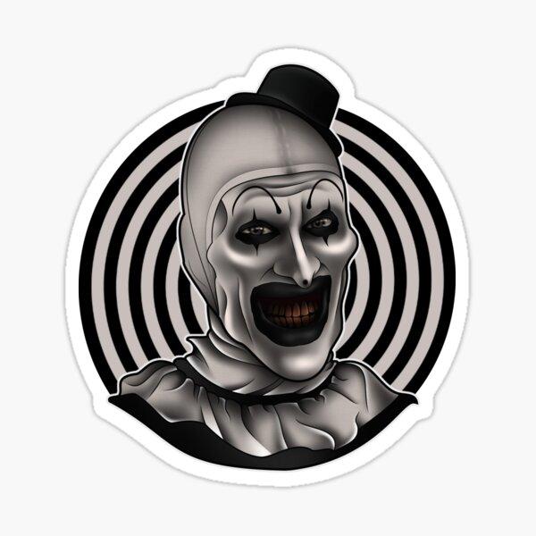 Sticker Aufkleber JOKER Killer Jester Face  Car Sticker Auto Böser Clown C29