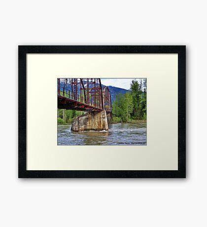 Flood Watch Framed Print