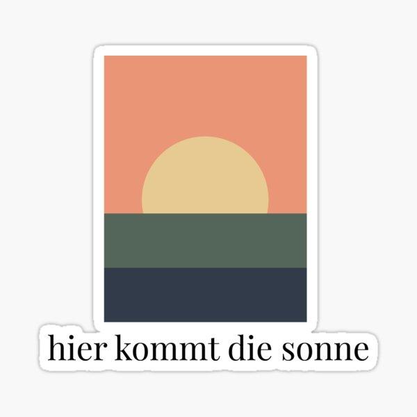 Rammstein - Sonne  Sticker