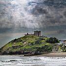 Criccieth Castle by Irene  Burdell
