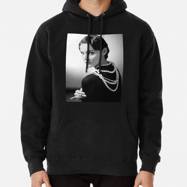 Coco Chanel digitally modified Pullover Hoodie
