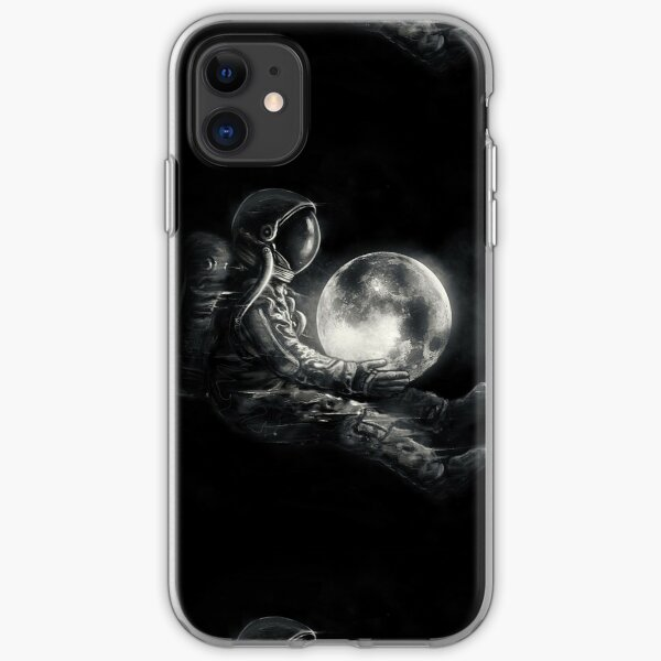 Moon Play iPhone Soft Case