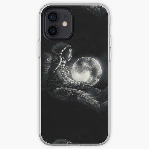 Jeu de lune Coque souple iPhone