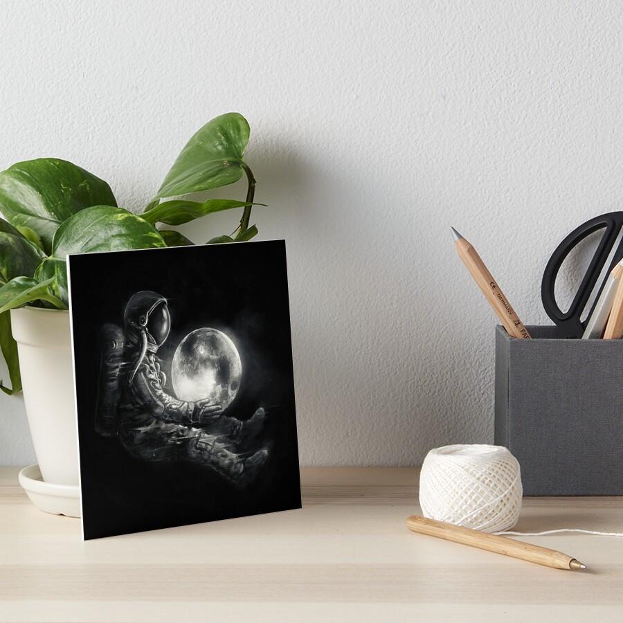 Moon Play Art Board Print