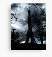 eiffel tower – paris, france Canvas Print