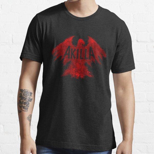 AKILLA - BLOOD RED LOGO Essential T-Shirt