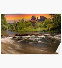 Cathedral Rock in Sedona, Arizona Poster