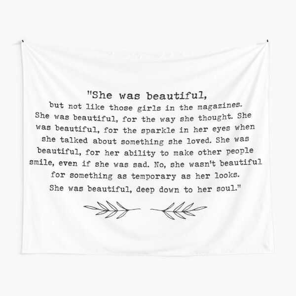 """""""She Was Beautiful"""" 