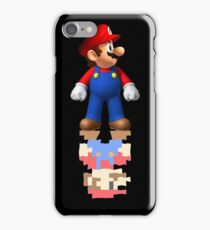Mario Reflection iPhone Case/Skin