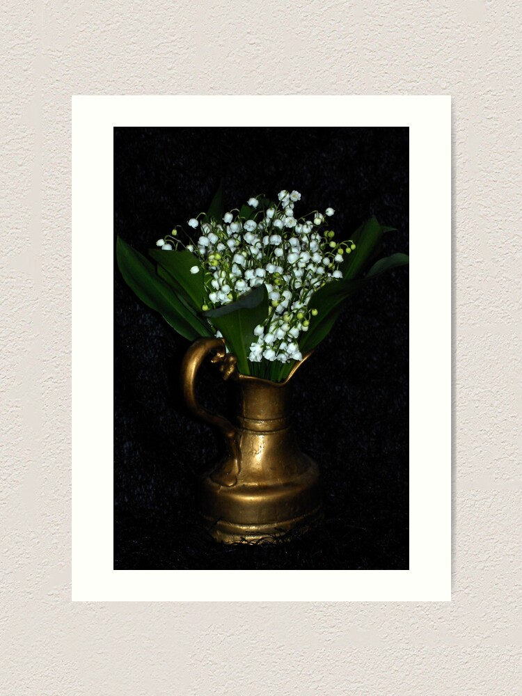 Alternate view of Lily of the valley Art Print
