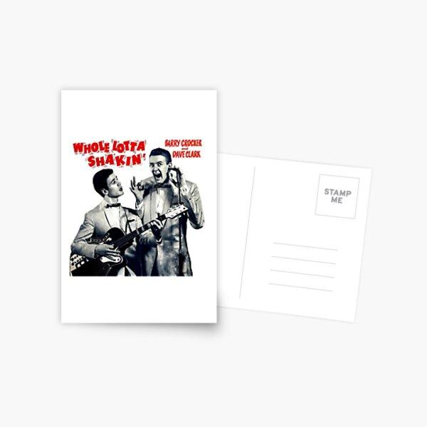 Barry Crocker - Whole Lotta Shakin' Postcard