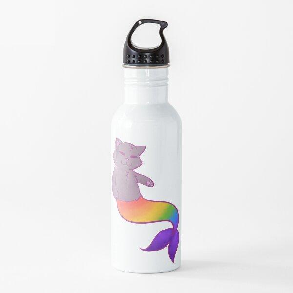 Mermaid Cat Water Bottle