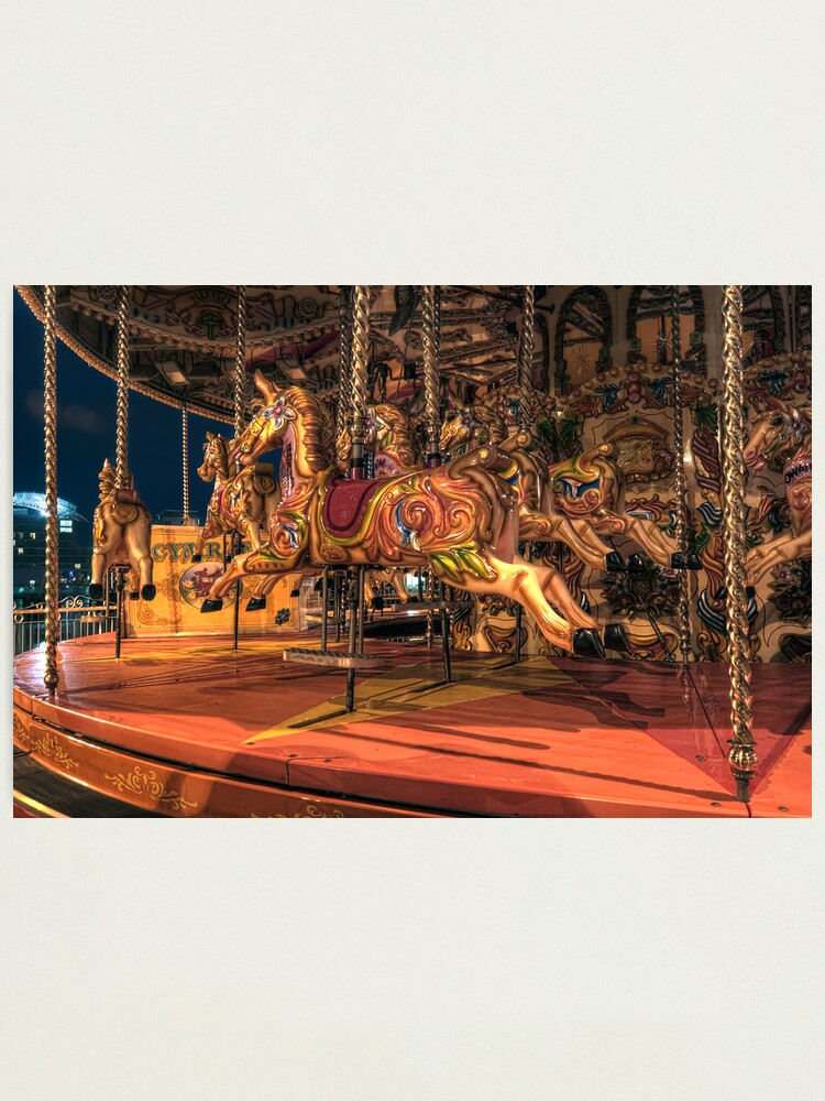 Alternate view of Carousel Photographic Print