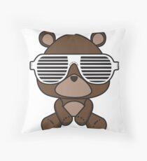 Boss Bear Throw Pillow