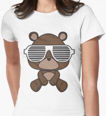 Boss Bear Womens Fitted T-Shirt