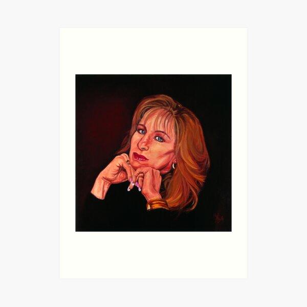 Barbra Streisand The Voice of her Generation Art Print