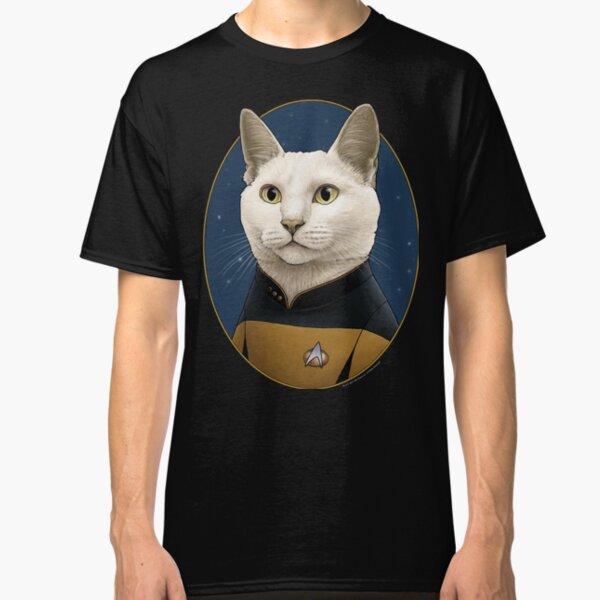 Star Trek Data Cat Formation Classic T-Shirt