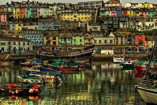 Brixham Harbour by ajgosling