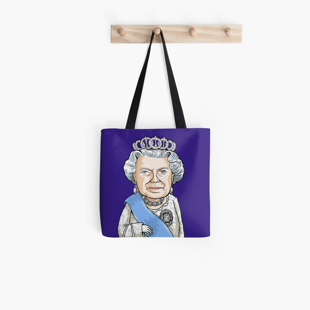 Queen Elizabeth II Tote Bag