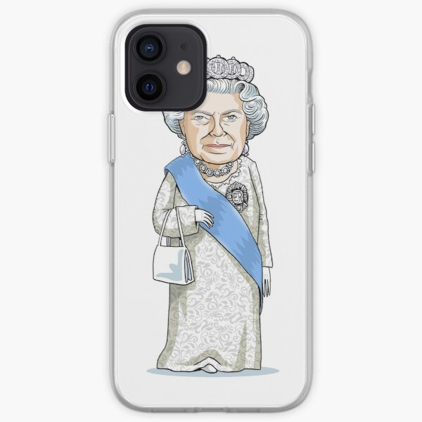 Queen Elizabeth II iPhone Soft Case